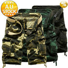 Cargo Pants Trousers Casual shorts pocket more than  Military CAMO Combat Army