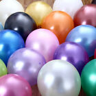 "1 to 250 12"" 19 Colors High Quality Pearl Latex Thick Party Balloons 3.2g Helium"