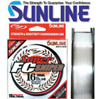 Sunline Super FC Sniper 100% Fluorocarbon Mainline 200yds - Choose Size