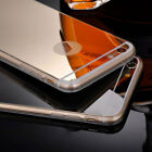 Luxury Gel Silicone Ultra-thin Mirror TPU Hard Case For iPhone 5 5s SE 6 6s Plus
