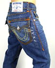 True Religion Men's Hand Picked Straight Mega Super T Jeans - MN2859UV2 38x34