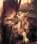 Lament of Icarus (classic Greek mythological print)