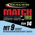 Maver Match MT9 Micro Barb Hooks   Coarse / Carp Fishing 10 per pack