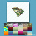 South Carolina Home State - Decal Sticker - Multiple Patterns & Sizes - ebn3842