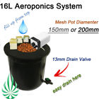 Signle Hydroponic System 16L AeroPonic Growing Kit & Air Pump Indoor Water Grow