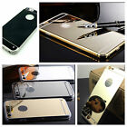 Luxury Ultra Thin Silicone Mirror Case For I Phone 5/5S, 6 and 6 Plus