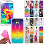 app to download music on samsung - For Samsung Galaxy S5 G900 i9600 TPU Slim Gel Silicone Rubber Skin Case Cover