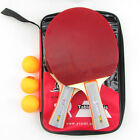 Wood ping pong paddle table tennis rubber with sponge pingpong bat racket blade