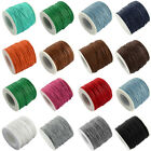 100yds/Roll Waxed Cotton Threads Tiny Strings Cords Spool Strong 1mm Wires New