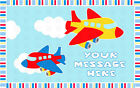 PLANES AIRPLANES Image Edible cake topper decoration