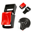 Motorcycle Black Helmets Speed Clip Buckle Chin Strap Quick Release Buckle