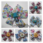 Baby/Toddler/Girl/Adult 3.5 Inch Pin Wheel Bow - Adventure Time