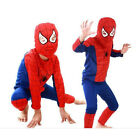 Top Halloween Costume Party Cosplay Fancy Suit BoyKid Toddler Spiderman Clothing
