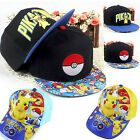 POKEMON Go Pikachu caps cap hat baseball unisex kids boys girls AU stock new