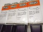 """ROCK ISLAND SPORTS STYLE """"9"""" SHAD HEAD JIG MOLDS COMBINE SHIPPING OFFER !!!"""