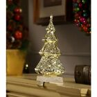 Stocking Tree Holder Stand Christmas Gold Sparkling Holiday Festival Decoration