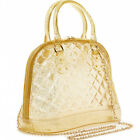 Jelly Candy Purse Women's Fashion Rubber Candy Bright Satchel Handbag 4 Colors