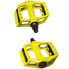 """BICYCLE MOUNTAIN MTB BMX BIKE CYCLING BEARING ALLOY FLAT-PLATFROM PEDALS 9/16"""""""