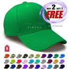 Plain Baseball Cap Solid Color Blank Army Hat Ball Men Women Hook-N-Loop $5.99 USD on eBay