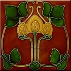 Внешний вид - Art Nouveau Reproduction Decorative Ceramic tile 073