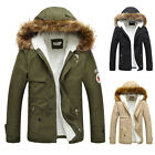 New Men's Warm Thick Coat Jacket Casual Hooded Parka Hoodies Overcoat Outerwear