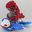 Pokemon Center  Kyogre & Groudon Character Stuffed Animal Plush Toy Xmas 2Pcs