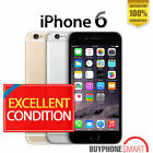 Apple iPhone 6 16-64GB Factory Unlocked phone No finger sensor Gold Gray Silver