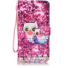 "Flip Leather Wallet Case Ultra Thin Girls Card Slot Skin for iphone 7 4.7"" Phone"