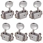 3L3R Small oval Concave Button Deluxe String Tuning Pegs Tuners Machine Heads CR