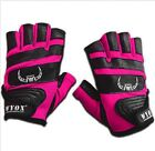 WYOX Ladies Leather Gloves - Fitness Gym Wear Weight Lifting Workout Training