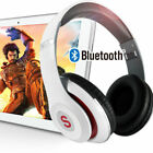 Bluetooth Wireless Headset with Mic Stereo Headphone Super HiFi Bass Earphone