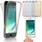 For Apple iPhone 6 / 7 Shockproof 360 ° Protection Front + Back Gel Case Cover