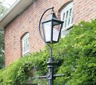 Victorian Style Lantern - Swan Neck - use with Antique Garden Lamppost Lighting