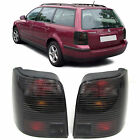 SMOKED REAR TAIL LIGHTS LAMPS FOR VW PASSAT 3B ESTATE TOURING 1996-8/2000 MODEL