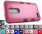 for ZTE ZMax Pro Carry Z981 Armor TUFF Hybrid Case Cover + PryTool