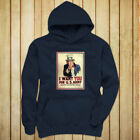 UNCLE SAM ARMY WANT YOU  RECRUIT AMERICAN SOLDIER Womens Navy Hoodie