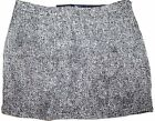 GAP Women Boucle Wool Blend Short A-Line Fall Skirt Fully Lined Size 18 Gray NWT