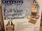 Great Price! TRAVELON Taupe Large New In Box Toiletry Cosmetic Bag Case