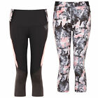 New Womens Elle Sports Fortitude Printed Fashion Leggings Performance Gym