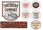 Edible SOUTHERN COMFORT LABELS Icing Sheet Cake Cupcake toppers UNCUT