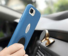 Genuine Magnetic Car Holder Silicone Case for iPhone 7 / 7 Plus Pretective Cover