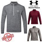 UNDER ARMOUR MENS FLEECE 2016 AF ICON 1/4 ZIP MENS PULLOVER GOLF JUMPER NEW 2016
