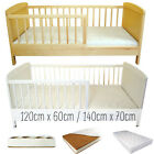 JUNIOR TODDLER BED SELECTION 120 140 SIZES WHITE PINE AND MATTRESSES BEST PRICE