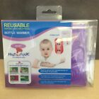 NEW, Reusable Heat in a Click Baby Bottle Warmer Pouch Included