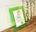 """Acrylic 14x12 magnetic desk picture photo frame for  10X8""""  SCHOOL/BABY/WEDDING"""