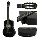 """38"""" Beginners Acoustic Guitar With Guitar Case, Strap, Tuner and Pick"""