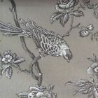 "French Bird Toile Natural Beige  280cm/108"" Wide Curtain/ upholstery Fabric"