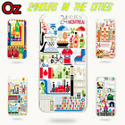 24 Hours in Cities Cover for iPhone 7 Plus, Quality Unique Design Case WeirdLand