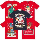 Mens Womens Adults Unisex Novelty Christmas Xmas T-shirt Top