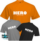 HERO (FOR JUST ONE DAY) - T Shirt, Song Quote, David Bowie, Cool, Quality, NEW